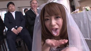 Huge boobs in stockings uncensored creampied at the wedding