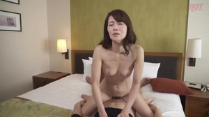 Censored good fuck with asian MILF