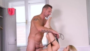 BDSM in the gym muscled german HD