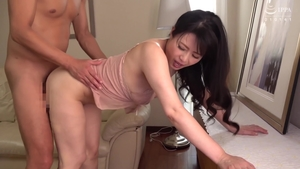Hairy asian MILF finds dick to fuck in HD