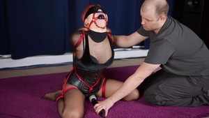 Uncensored BDSM together with asian babe