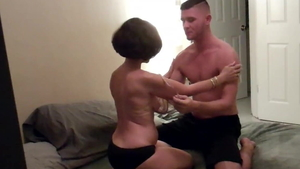 Rough fucking escorted by young amateur