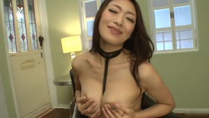 Uncensored sloppy fucking escorted by Reiko Kobayakawa