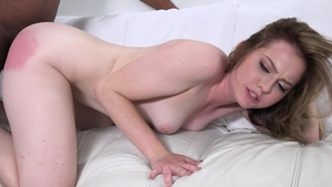 Hairy pornstar Britney Light rough cumshot in HD