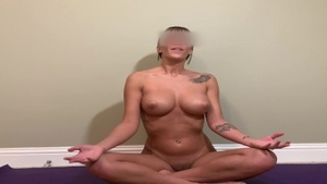 'Guided naked Yoga! cum, Do in nature's garb Yoga With Me!!'