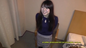 Hairy japanese teen sex toys at casting in HD