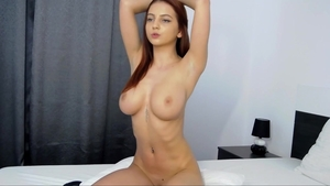 Huge tits babe really enjoys hard fucking
