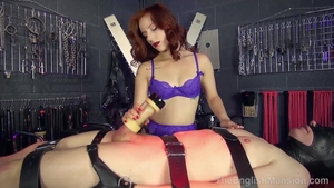 Redhead reality fun with toys