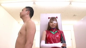 Japanese goes for cosplay hard nailining HD