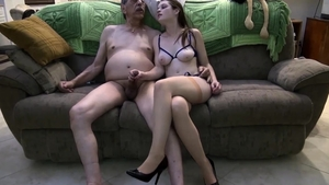 Young brunette goes in for hard sex in HD