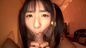 JAV japanese teen got her pussy smashed in stockings