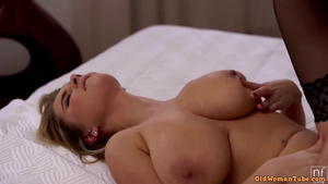 Large boobs brutal nailed rough