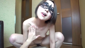 Asian sex with toys HD