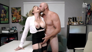 Hard sex in company with european pornstar Cory Chase