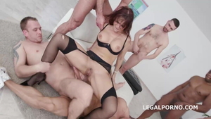 Rough hard pounding between super hot mature Syren Demer in HD