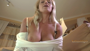 POV pussy fucking escorted by adorable mature