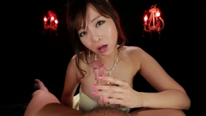 Getting facial in the company of asian stepmom