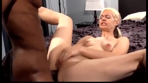 Hard ramming in the company of blonde Alanna Thomas