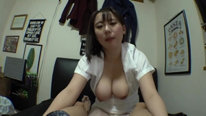 Japanese in sexy stockings in HD