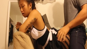Petite asian teen chick receives the best sex in HD