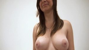 Solo chubby czech girl masturbating at castings