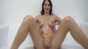 Czech sweet chick orgasm solo
