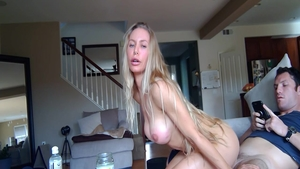 Huge boobs Nicole Aniston amateur creampie sex video