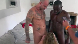 Loud sex starring slim french wife