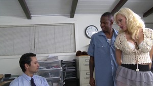 Margo Russo interracial banging in office