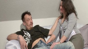 Dick sucking together with german amateur