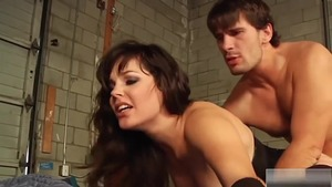 Bobbi Starr fetish dick sucking scene