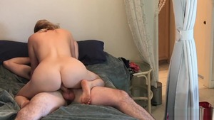 Hard nailining together with big butt amateur Erin Electra