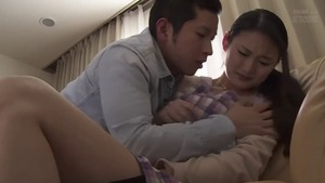 Raw slamming hard along with small tits japanese mature