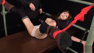 Very small tits japanese fetish tickle