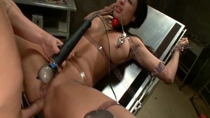 Anissa Kate in gonzo rough pounding